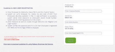 Railway Employee Register