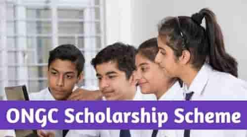 ONGC Scholarship Application